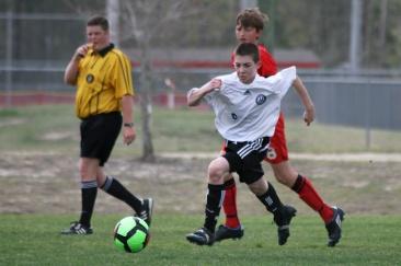 david soccer running